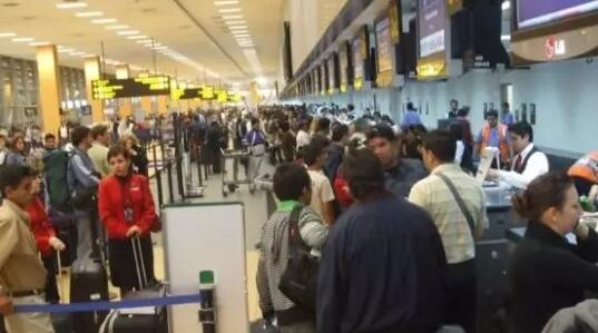 秘鲁利马和智利圣地亚哥之间的航班数已近饱和