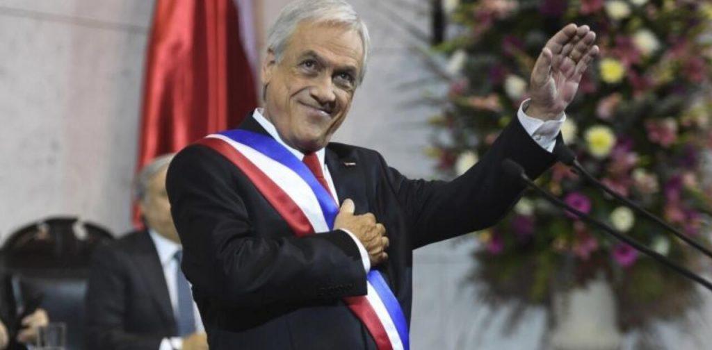 """智利总统皮涅拉:""""努力工作,组建家庭,生儿育女,多子多孙,安享晚年"""""""