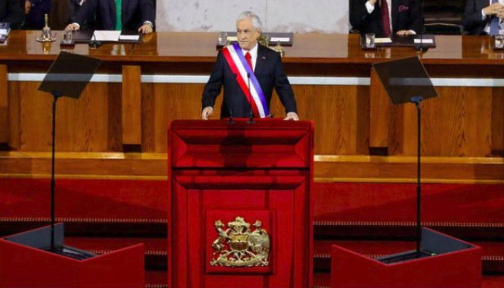 智利总统皮涅拉施政管理报告 将减少众参议员人数