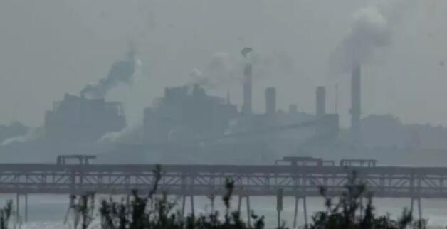 瓦尔帕莱索省Quintero 空气出现大量的二氧化硫