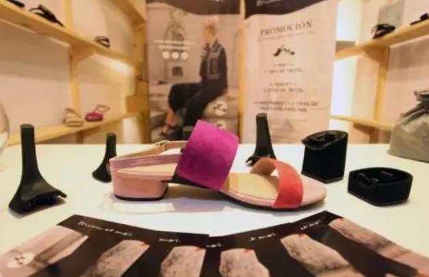 一鞋可换七跟的德国品牌Mime et moi入驻智利