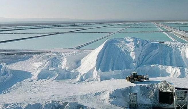 智利藏有丰富的锂矿资源