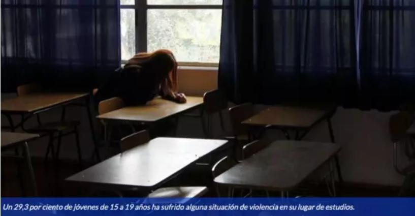 智利学校霸凌情况严重 25%学生都遭受过类似情况