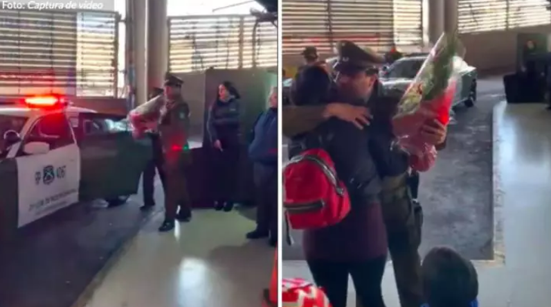 智利警员动用警车向女朋友求婚被查