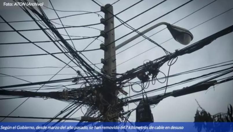 智利总统皮涅拉颁布法律 要求电信公司撤走高空无用电缆