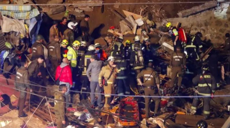 智利瓦尔帕莱索一房屋倒塌 造成4名外国移民死亡