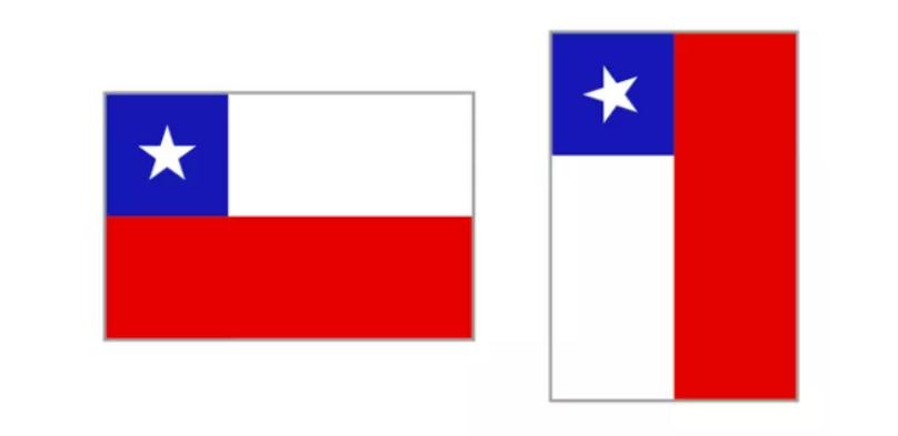 智利国庆节应该如何正确的悬挂国旗
