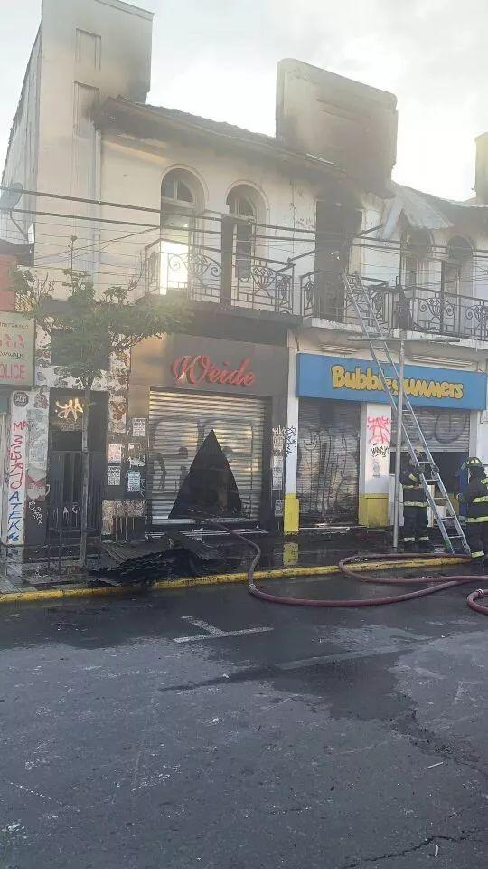 协侨部寻找此次智利暴乱 损失惨重无力重启生意的侨胞