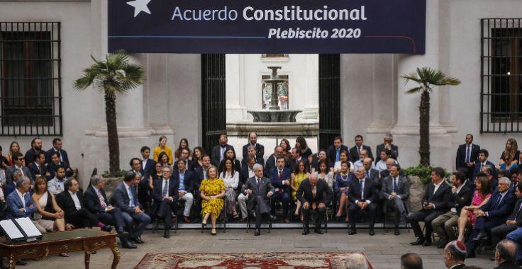 智利总统皮涅拉颁布2020年4月份的制宪公投改革方案