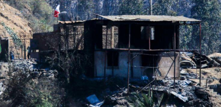 瓦尔帕莱索再次发生特大火灾 250多家房屋烧毁 协侨部接到援助请求