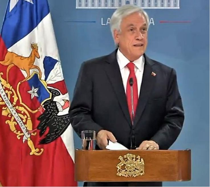"""对智利总统皮涅拉的控诉被""""驳回"""" """"辞任""""危机解除"""