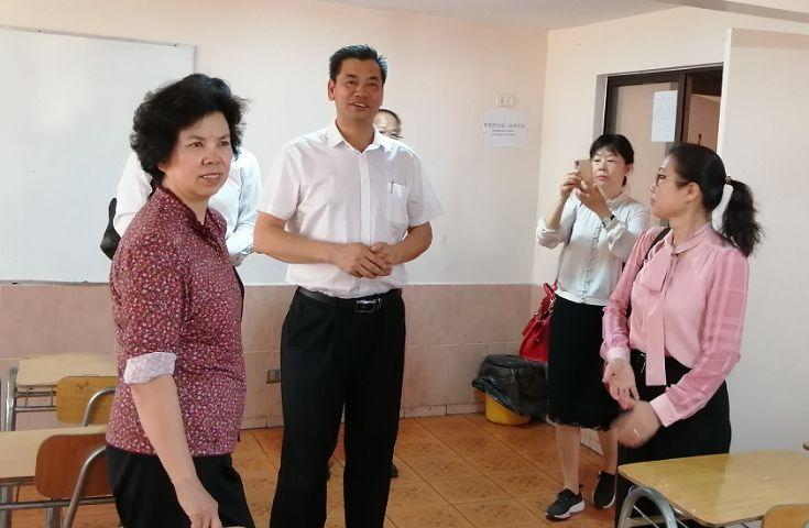 深圳市人大常委会常务副主任罗莉率代表团访问智利