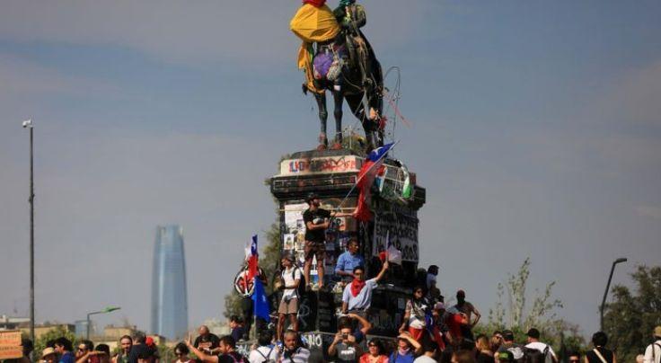 智利政府宣布将对示威集会进行整顿 反对派不同意