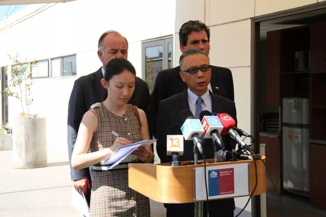 智农业部长称不会采取措施限制对华人员及贸易往来