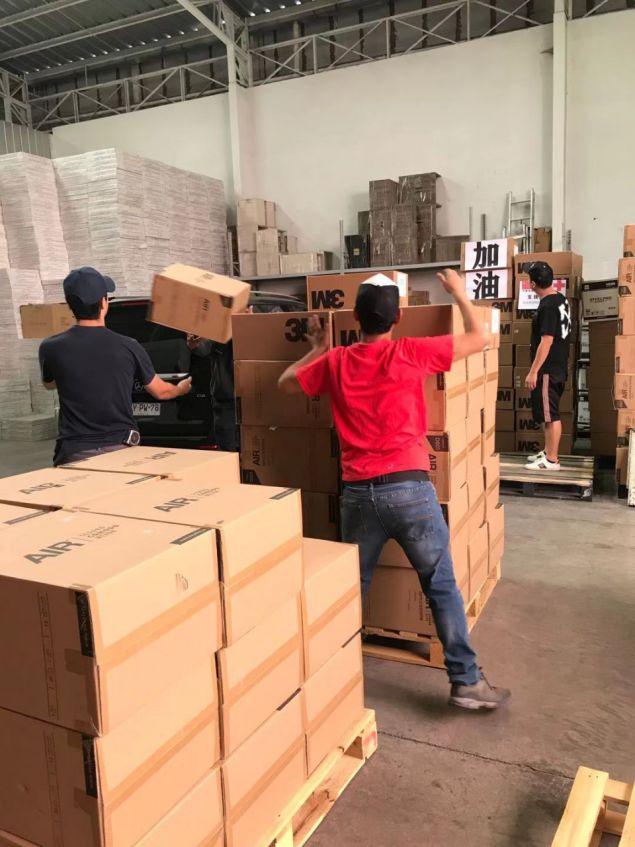 众志成城抗疫情!智利江苏商会援助海门市的物资已启程