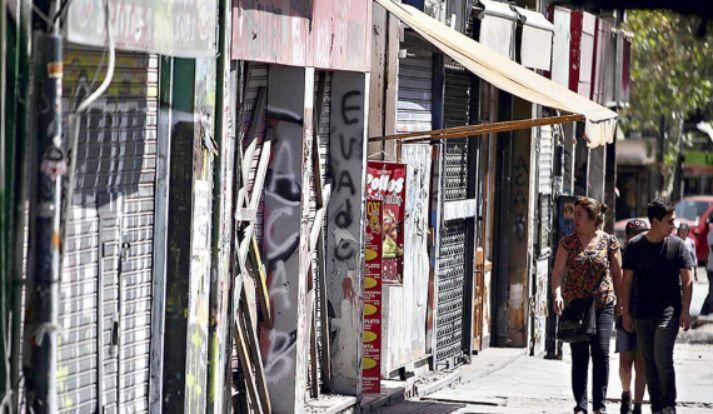 """社会动乱爆发四个月 69% """"零度区域 """"的商店仍然无法正常营业"""