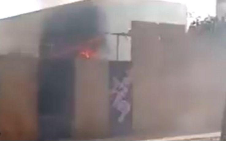 La Cisterna正在建造的卫生诊所发生爆炸