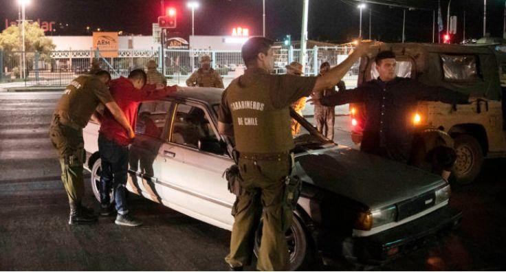 智利宵禁实施首日有146人违反规定被拘捕