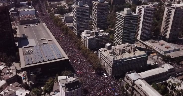 国际劳动妇女节游行活动 全国范围内大约有350万人参加