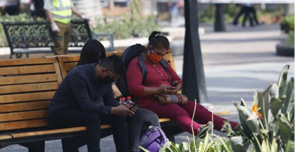 """确诊的女性从火车站区到市中心武器广场""""伸展手脚"""""""
