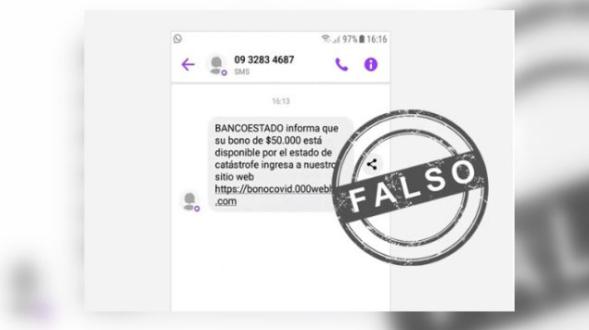 不法份子利用疫情进行诈骗,BancoEstado发文提醒