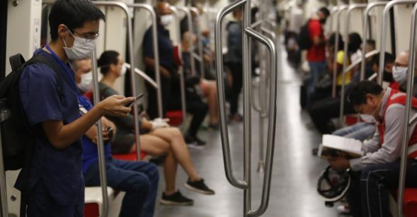 从疫情开始 智利的公共交通乘客下降了71%