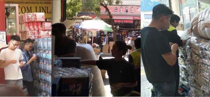 Comunidad chinos:Ayuda a las personas en la zona de Valparaíso afectada por el desastre