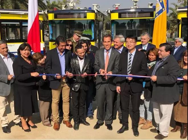 由中国丽水捐赠给圣地亚哥的电动治安巡逻车即将投入使用