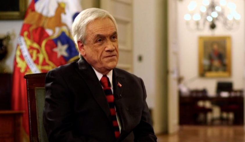 智利总统皮涅拉表明:不参与第三次总统竞选