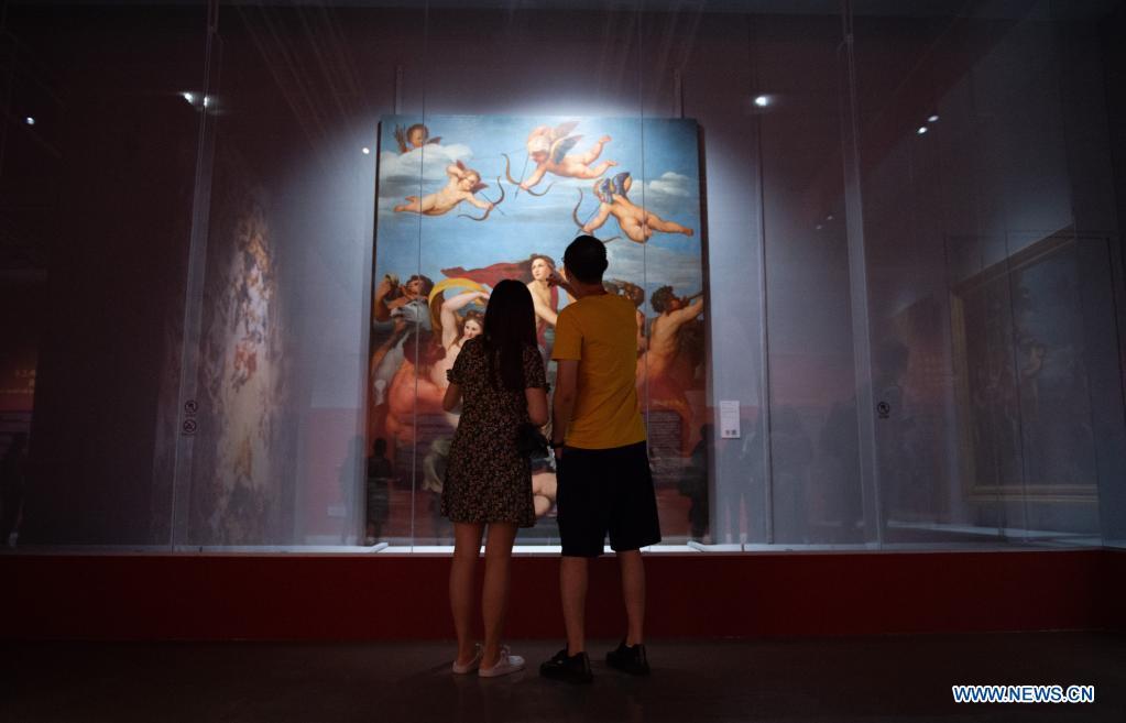 """Exposición """"Conoce a Rafael: Obras Maestras del Renacimiento al Neoclasicismo"""" en Beijing"""