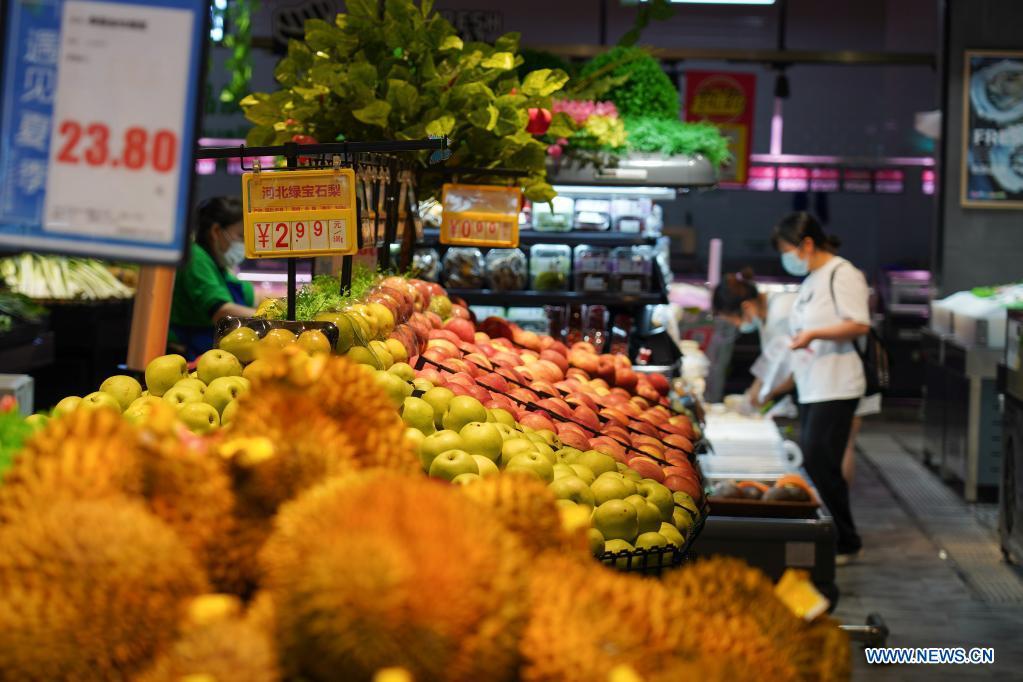 IPC de China aumenta 1 % interanual en julio