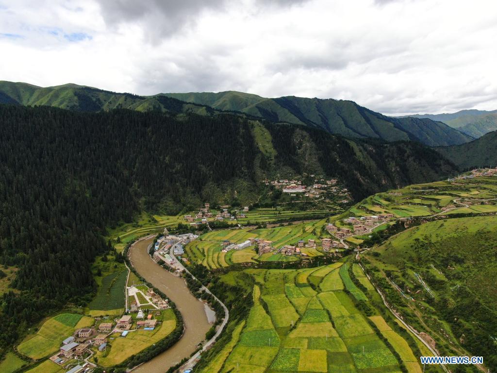 Distrito de Bainma en Qinghai