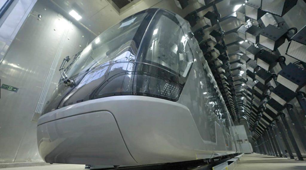 China realiza las pruebas de los tranvías para los Juegos de Invierno de 2022