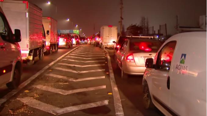 智利圣地亚哥因交通堵塞 导致每年损失14,06亿美元