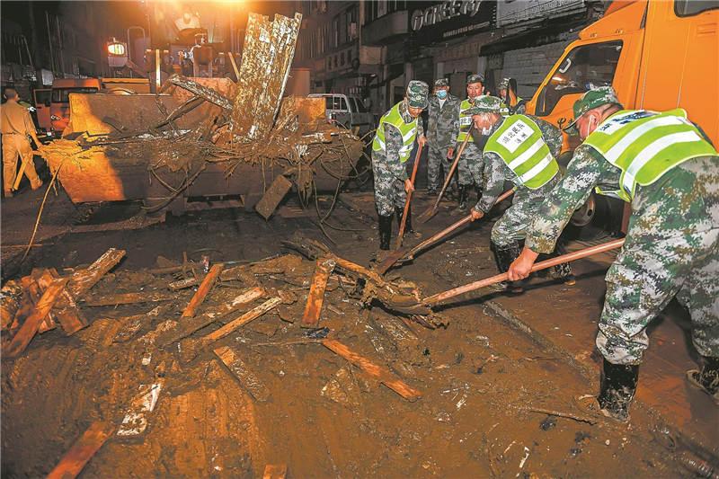 Liulin de Hubei se recupera a pasos agigantados tras las inundaciones