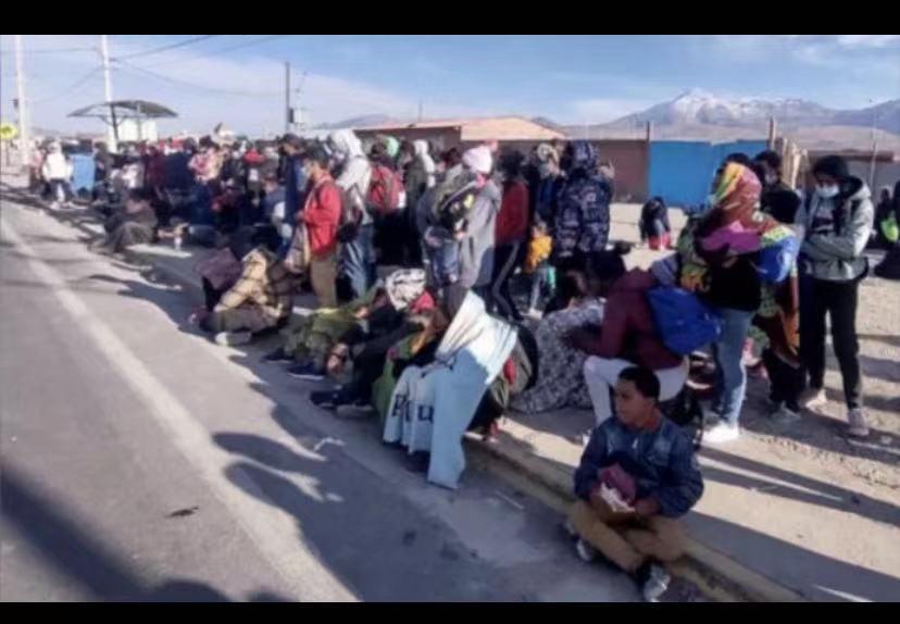 Llamar a todos los chinos a ingresar legalmente a Chile para invertir y visitar a familiares